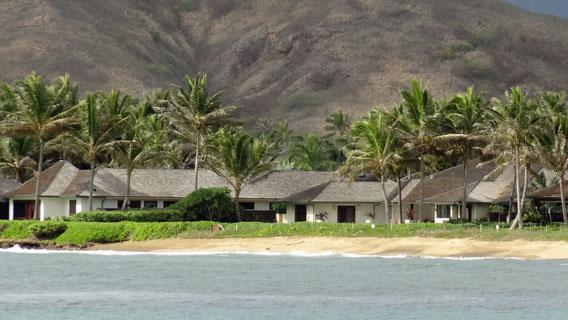 Obama's Hawaiian Beach Cabin