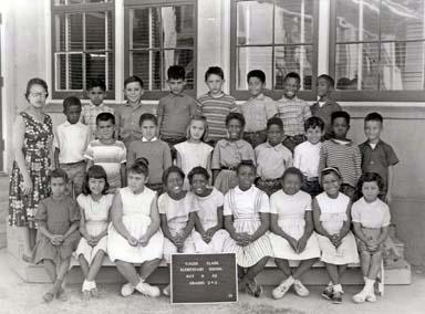 Galen Clark Elementary, Merced, California, circa 1965