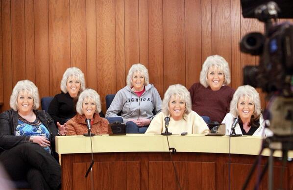 The Zimmerman jury.