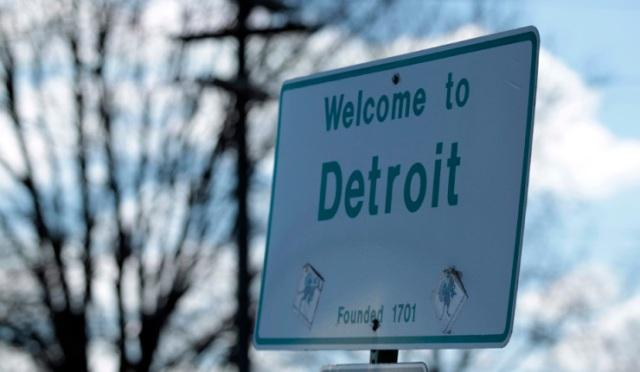 File Detroit files for bankruptcy