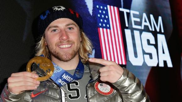 Snowboarder Sage Kotsenburg grabs the first gold medal in Sochi