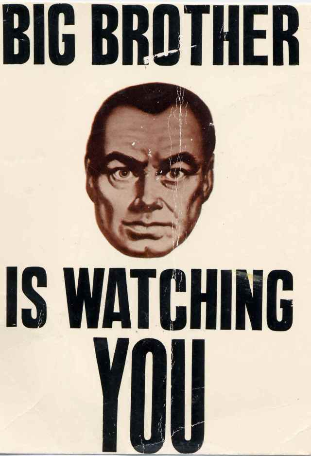 Big Brother Is Watching You 1