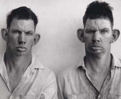 This is my brother Daryl and my other brother Darrell.