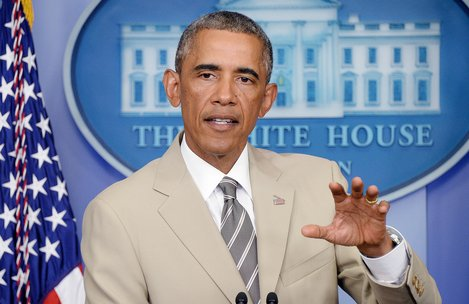 President Obama speaks on the situation in Ukraine