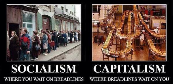 socialism vc capitalism