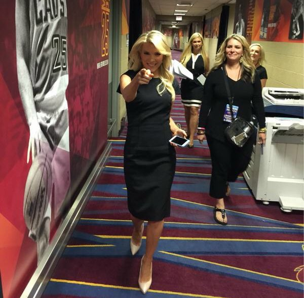 Megyn is ready to rumble
