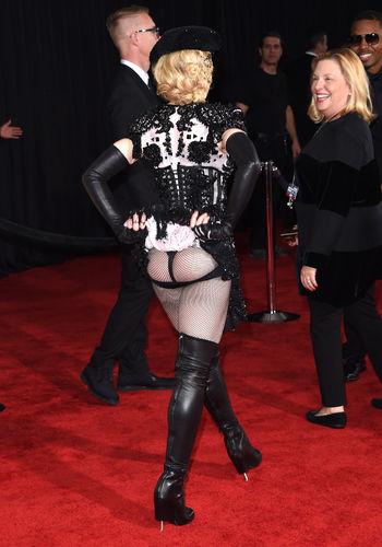 Madonna's Ass