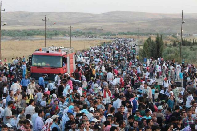 syria refugees crisis iraq unhcr 2013 2014 2015