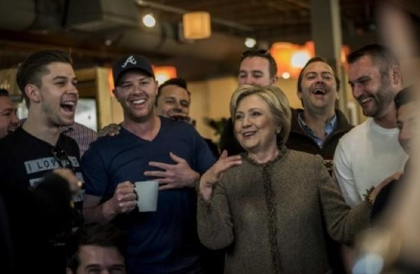Hillary bachelor party 2016