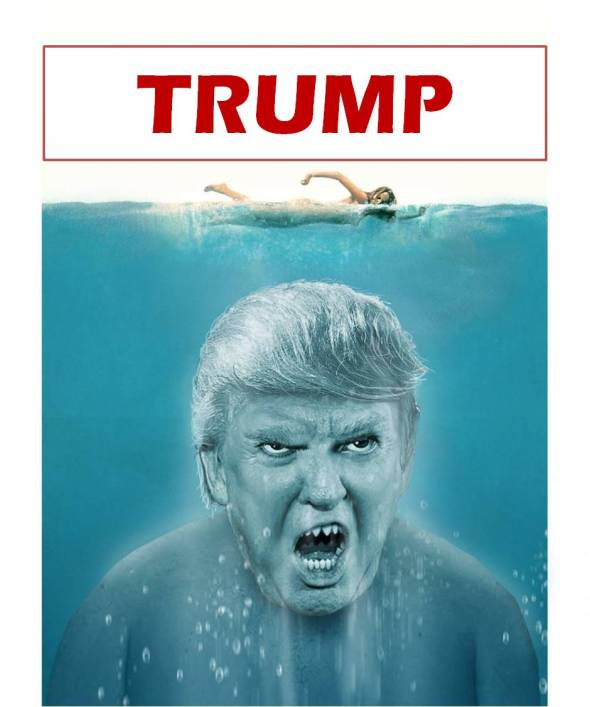 Trump the Shark J