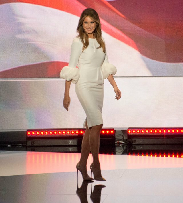 Melania Trump will be the hottest FLOTUS ever!