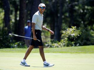 Nero fiddled, Obama golfs