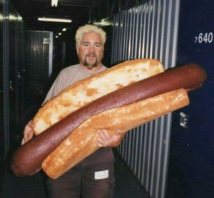Bob has a huge wiener