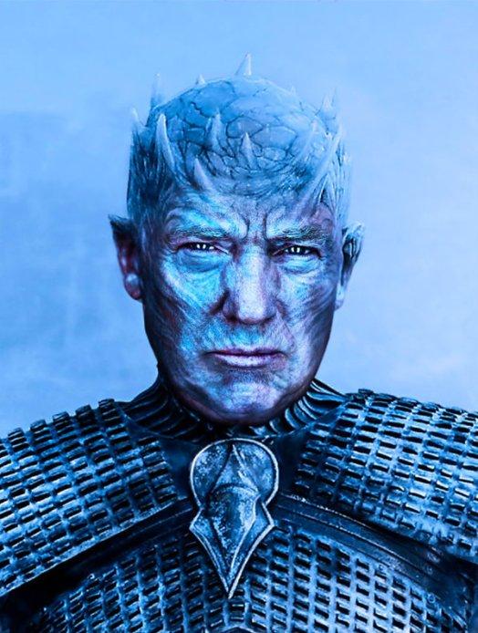 Trump King Night