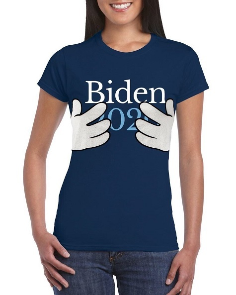 biden 2020 gropey t shirt | The Crawdad Hole